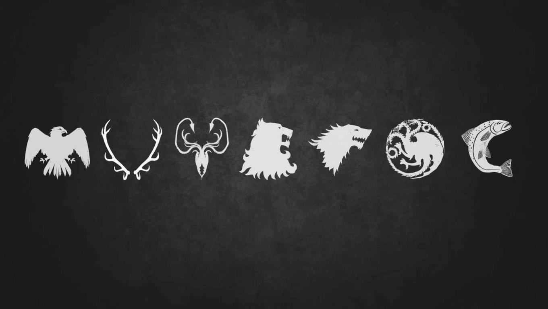 Game Of Thrones Season 7 Sigils - HD Wallpaper