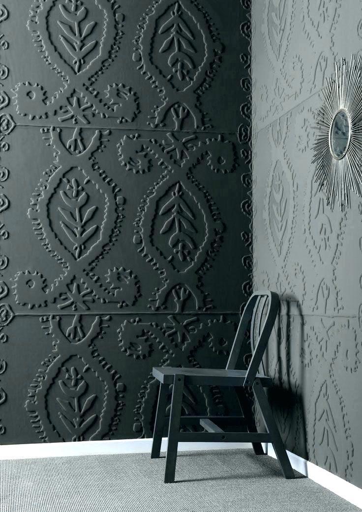 Wallpaper Over Textured Wall Wallpaper Textured Walls Embossed Wallpaper In Interiors 736x1042 Wallpaper Teahub Io
