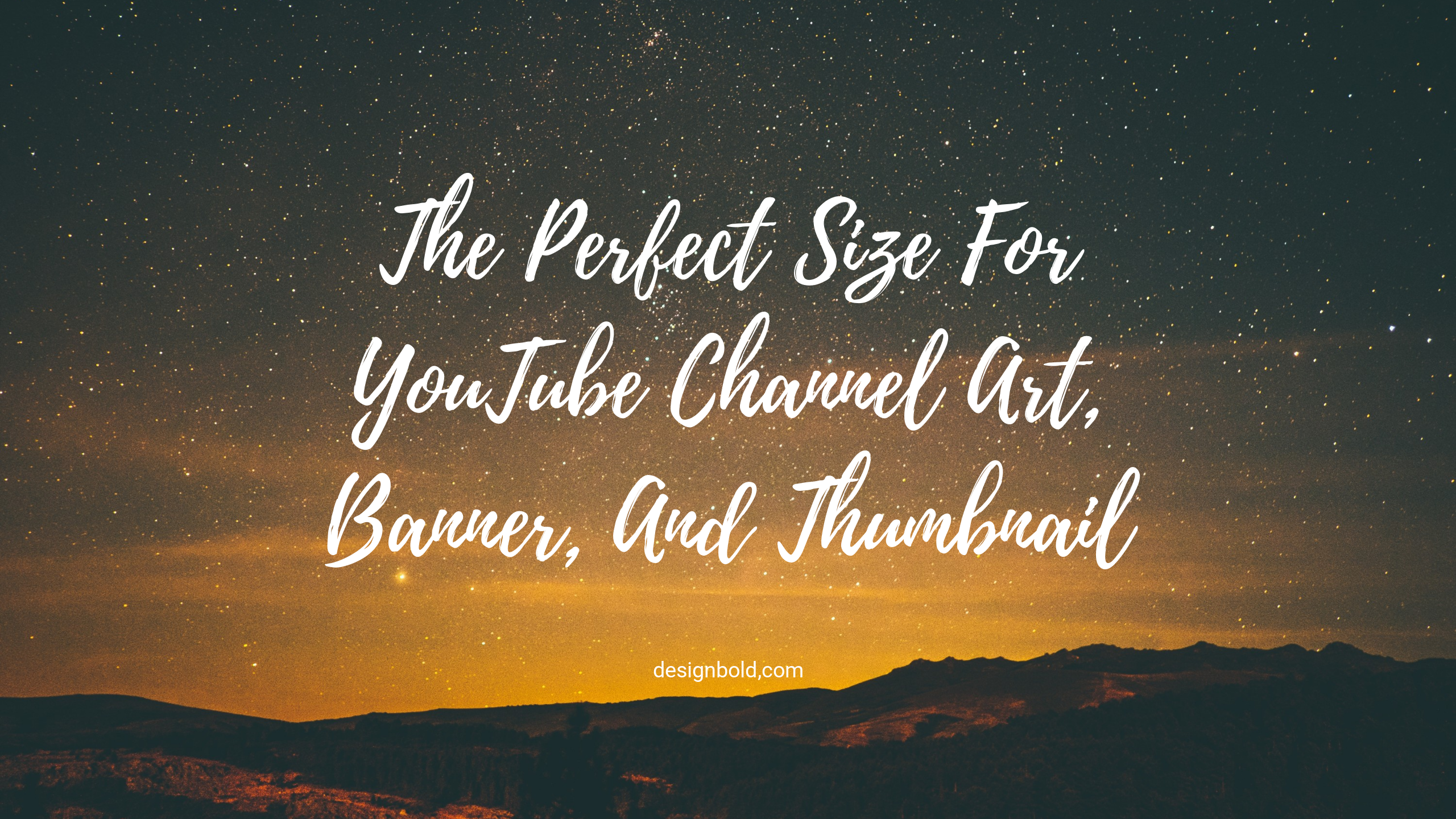 The Perfect Size For Youtube Channel Art, Banner, And - Youtube Channel Art - HD Wallpaper