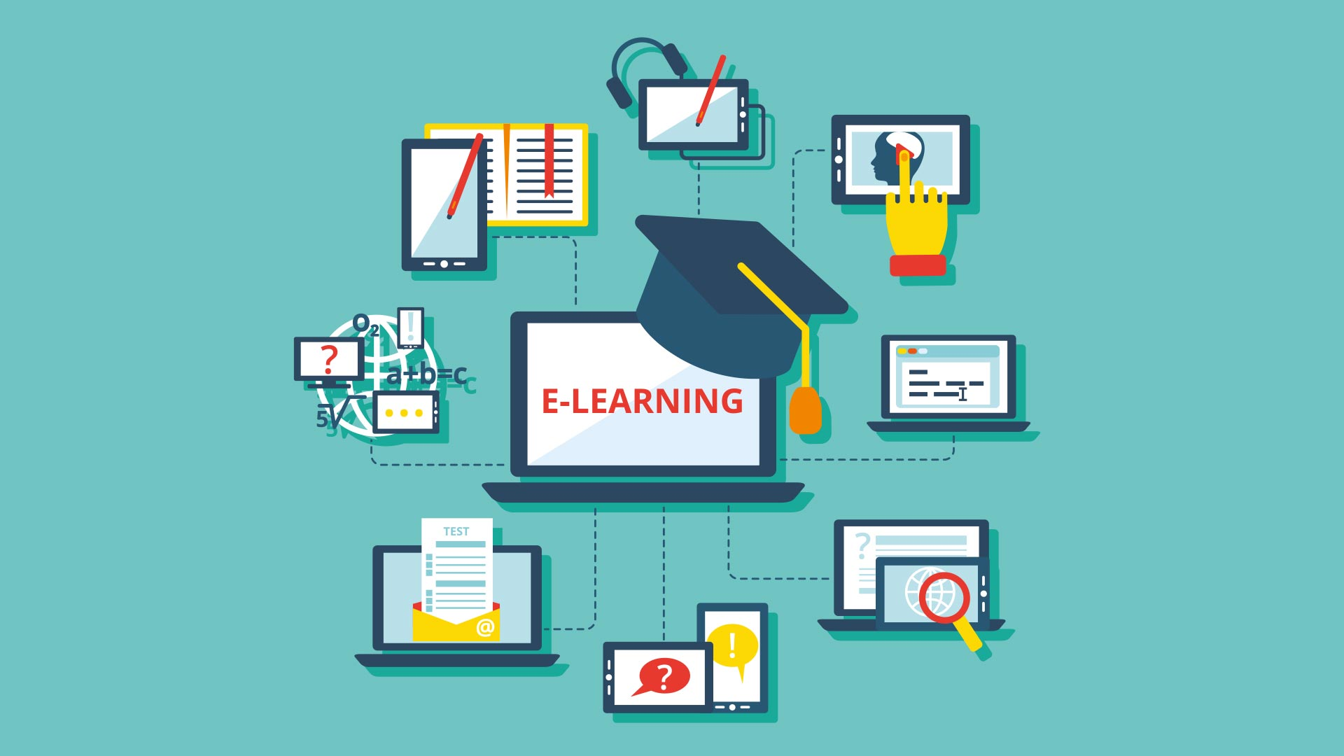 Aprendizaje Electronico E Learning - HD Wallpaper