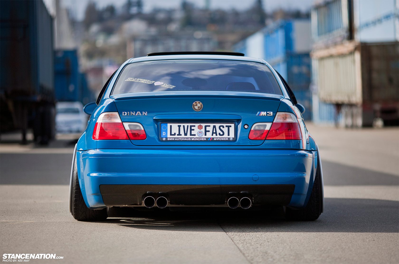 Bmw Dinan Wallpaper Hd Bmw M3 E46 Slammed 1680x1113 Wallpaper Teahub Io