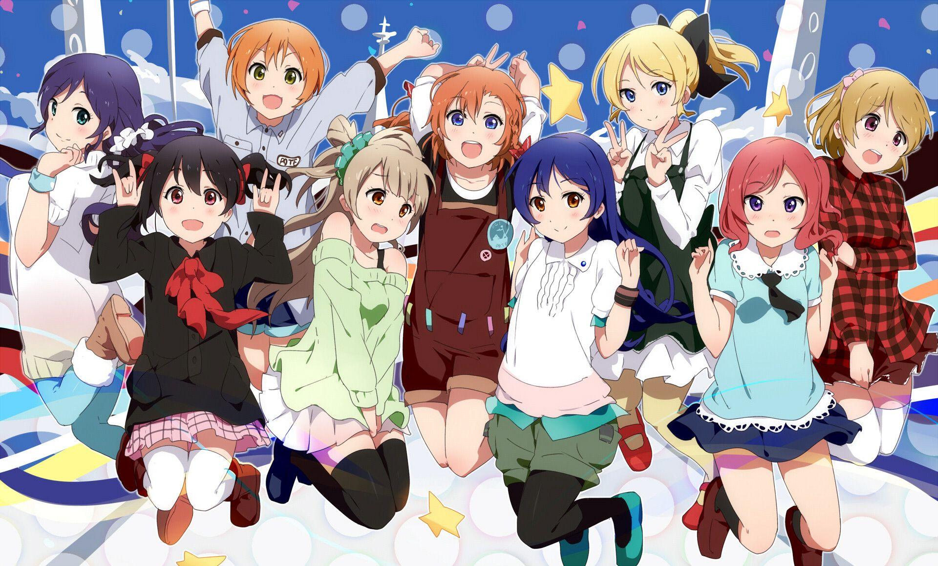 Love Live School Idol Project Muse - HD Wallpaper