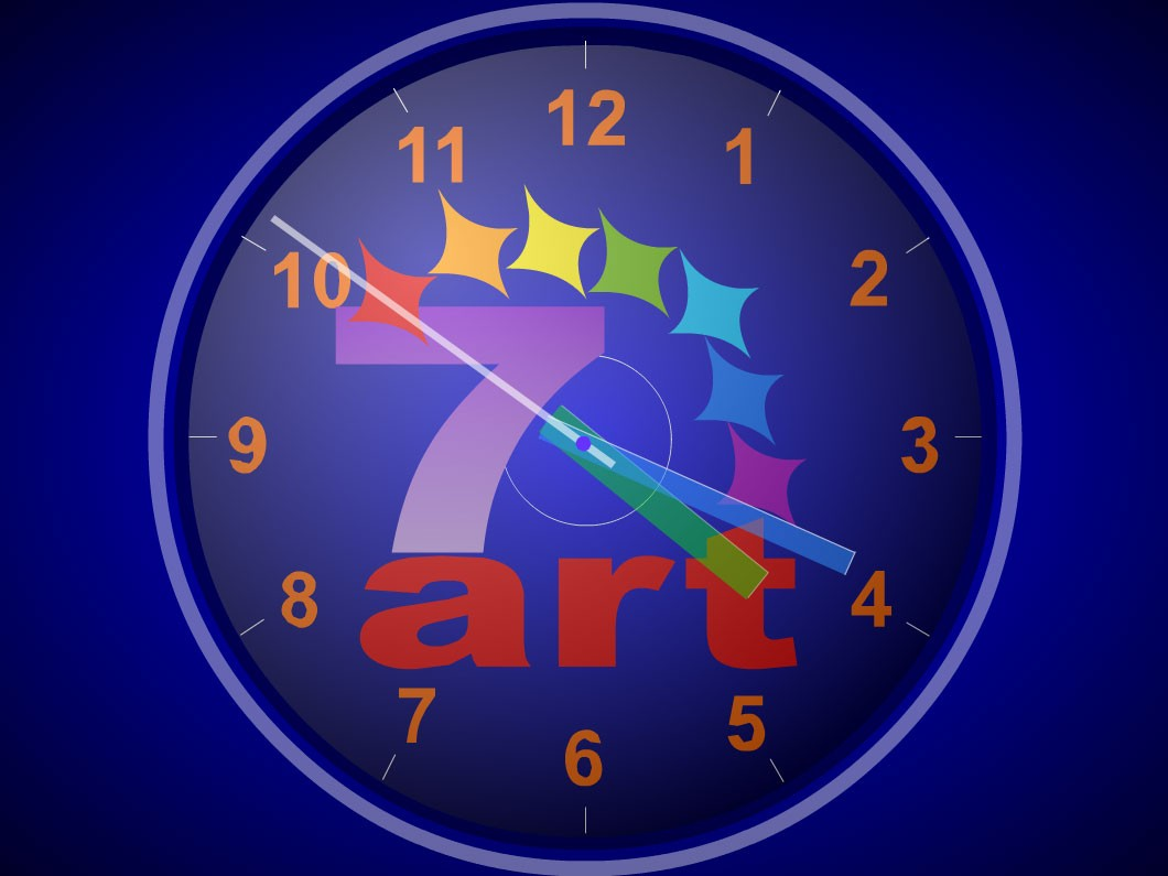 Animated Moving Clock Wallpapers For Desktop - HD Wallpaper
