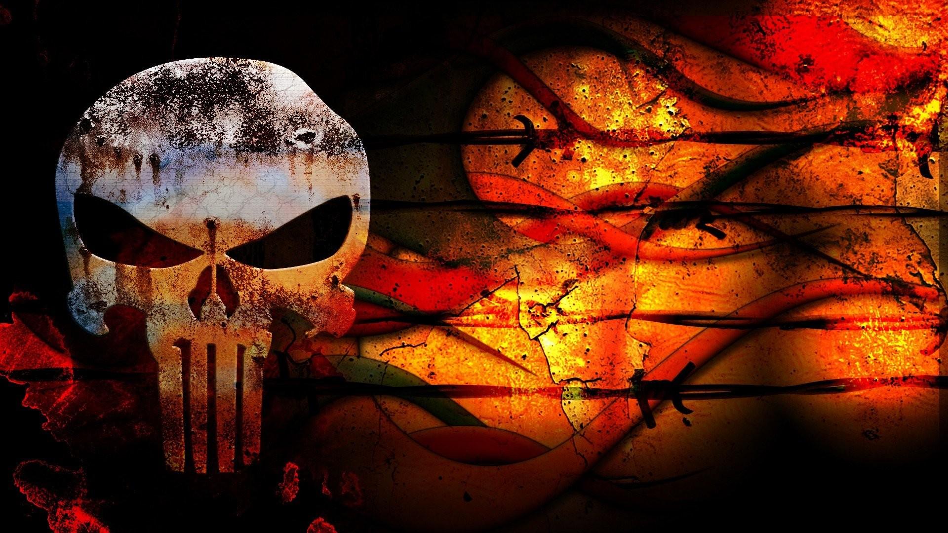 The, Punisher, Skull, Wallpaper, Hd, High Resolution - Punisher American Flag Wallpaper Ipad - HD Wallpaper