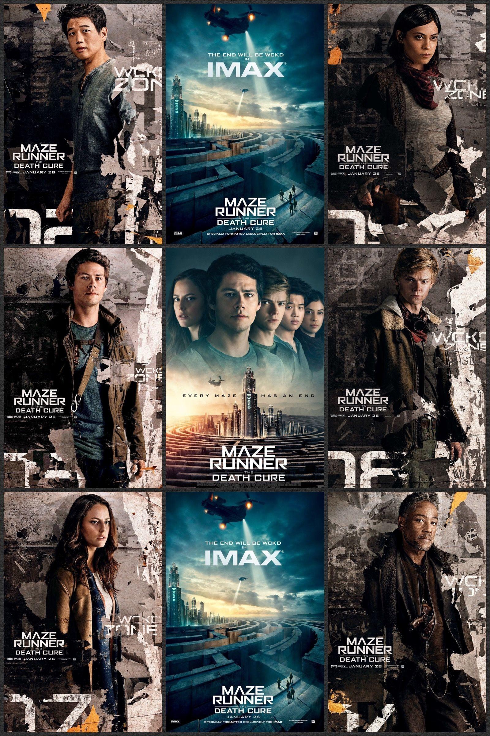 The Maze Runner Wallpaper - Maze Runner The Death Cure Movie Poster - HD Wallpaper