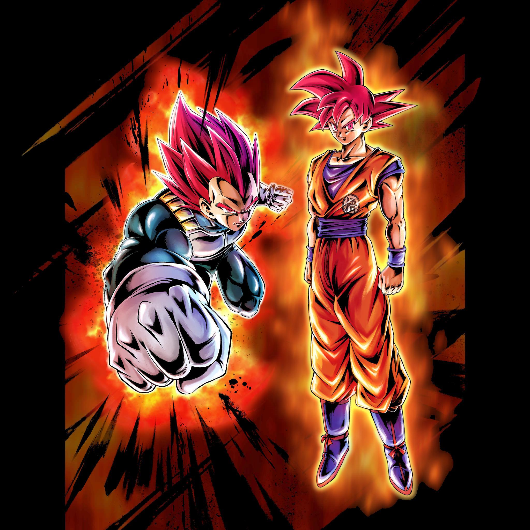 Ssg Goku And Vegeta 2048x2048 Wallpaper Teahub Io