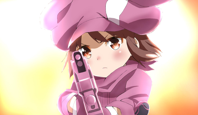 Anime Girl Gun Wallpaper For Android - HD Wallpaper
