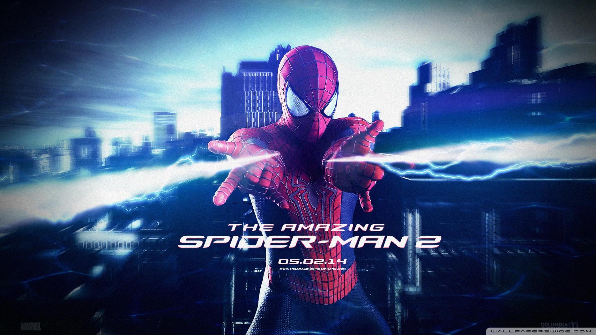 Amazing Spider-man 2 Hd Movie Wallpaper - Amazing Spider Man 2 Poster Hd - HD Wallpaper