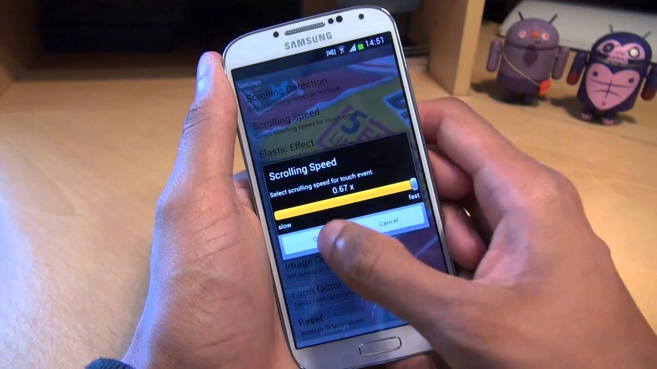 How To Set Scrolling Wallpaper On Samsung Galaxy S4 - Scrollable Wallpaper Samsung - HD Wallpaper