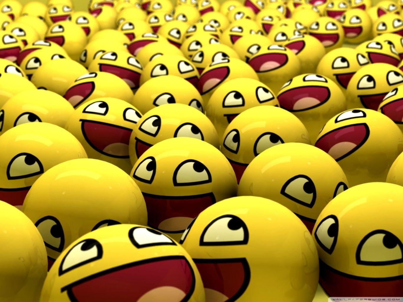 Funny Smileys 4k Hd Desktop Wallpaper For 4k Ultra Emoticon Smile 1368x1026 Wallpaper Teahub Io