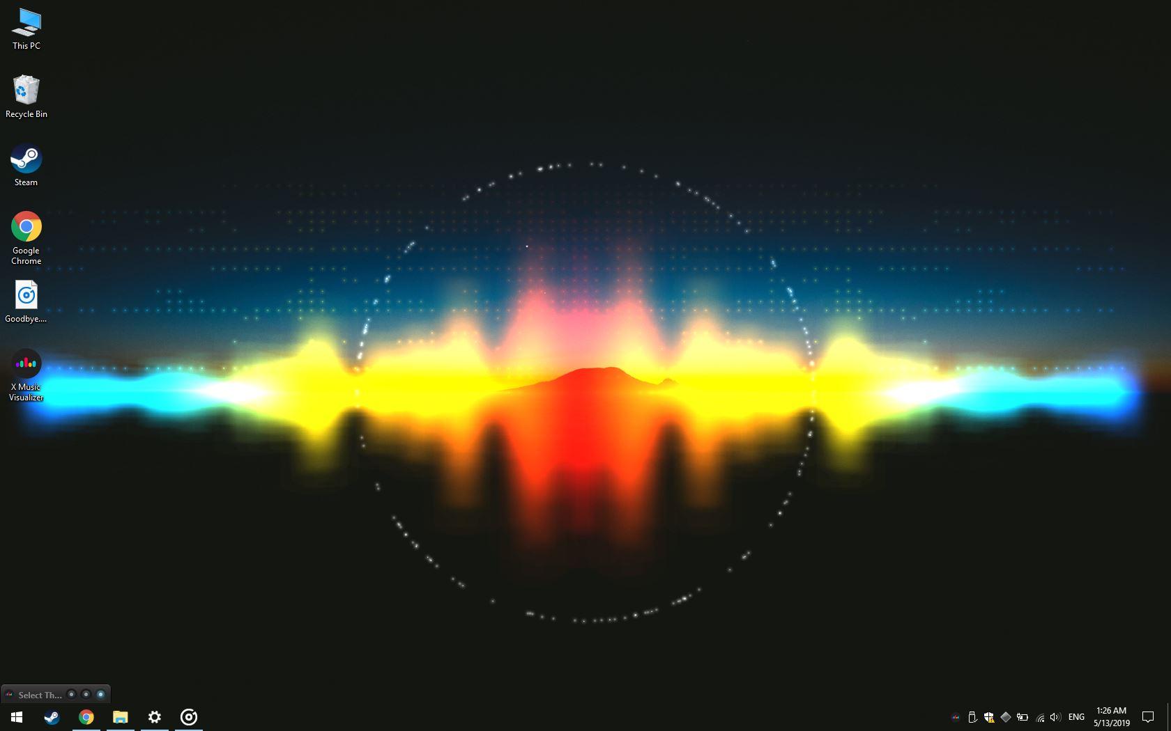 Music Visualizer Working Live Music - HD Wallpaper