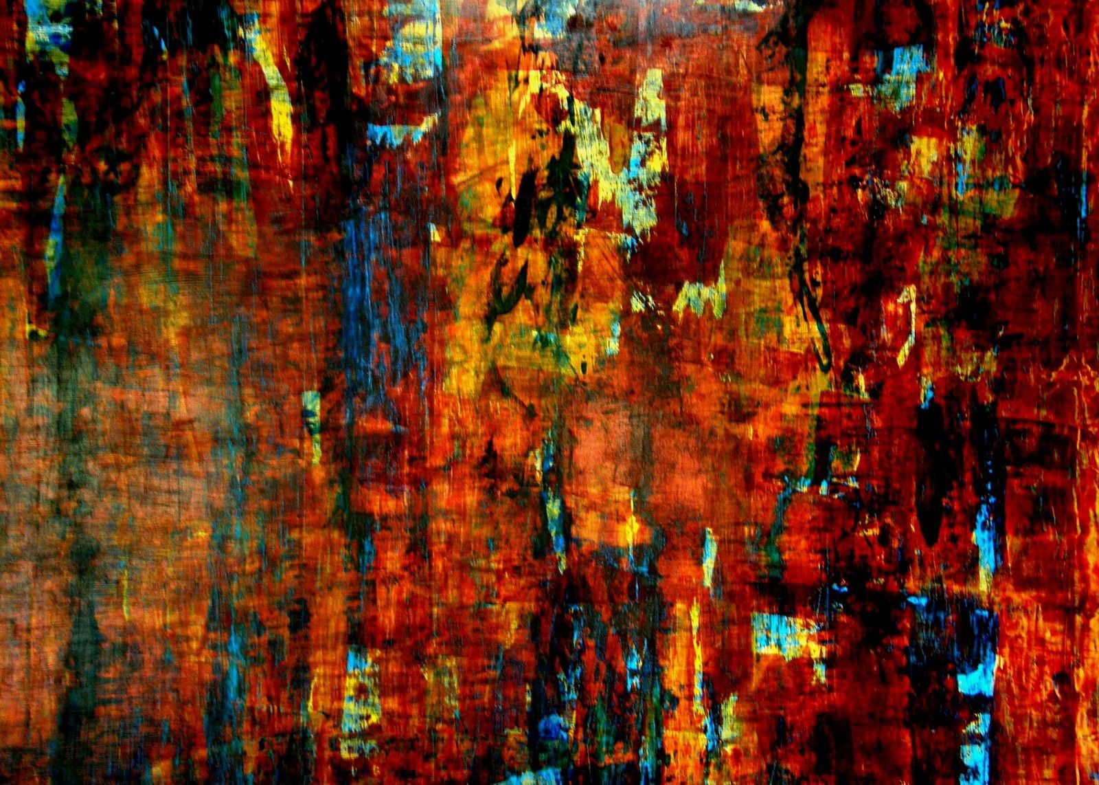 Abstract Oil Painting Wallpaper Hd - HD Wallpaper