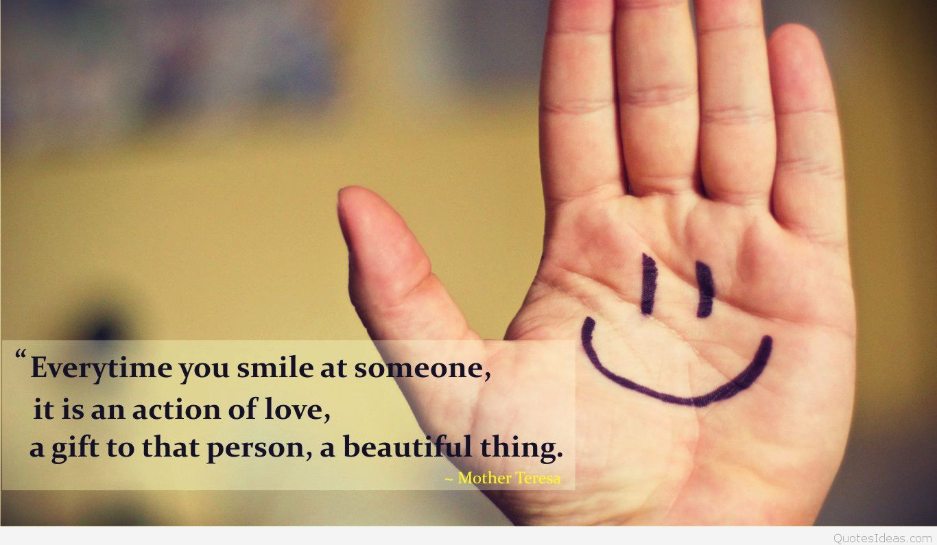 Best And Cute Cute Quotes Wallpaper - Love Smile Images Hd - HD Wallpaper