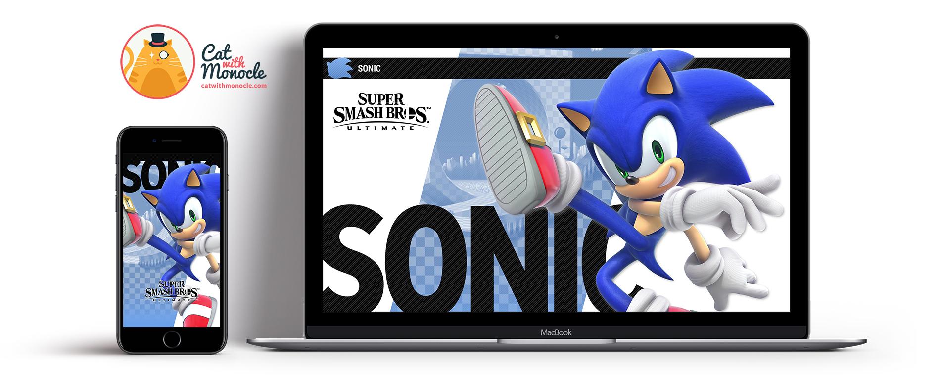 Super Smash Bros Ultimate Sonic - Super Smash Bros Ultimate Banjo - HD Wallpaper