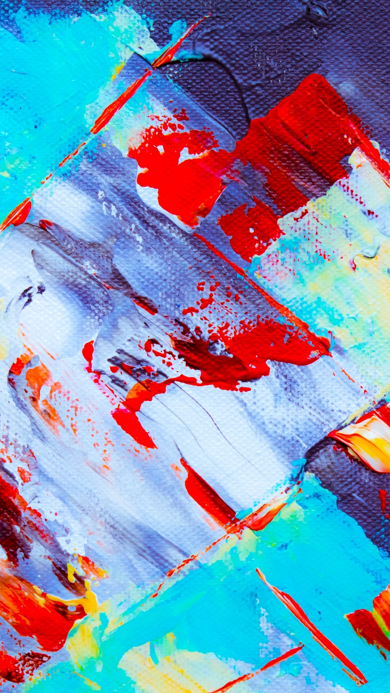 Wallpaper Canvas, Paint, Acrylic, Stains, Chaos, Abstract - Iphone Background Abstract Painting - HD Wallpaper
