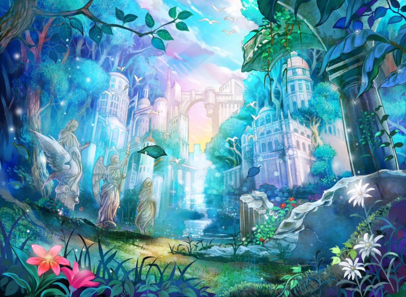 Hd Surrealism Wallpapers Artworks Background Art Cool - Fantasy Kingdom Painting Art - HD Wallpaper