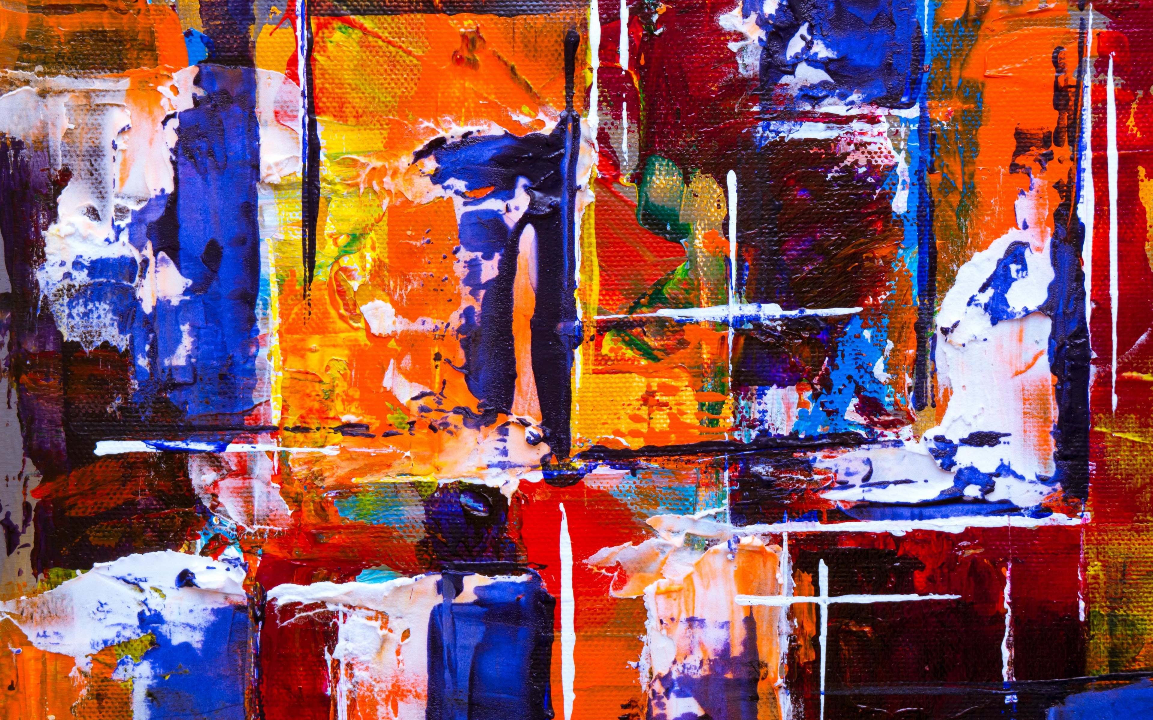 Abstract, Painting, Texture, Colorful, Wallpaper - Painting Texture Background Hd - HD Wallpaper