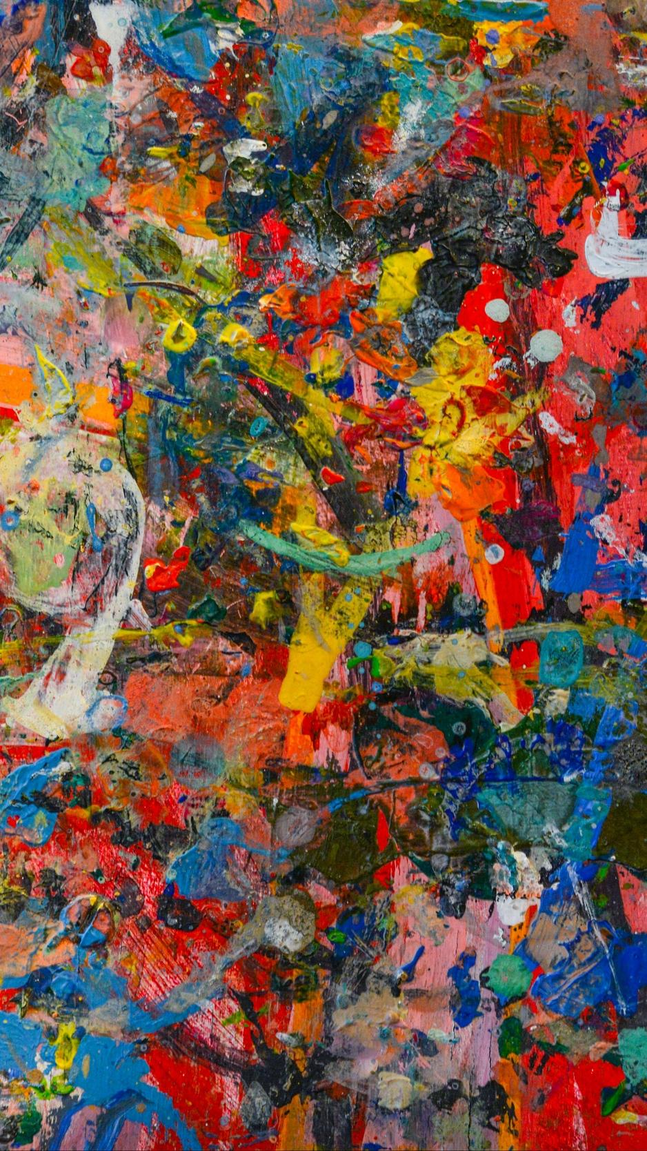 Wallpaper Art, Surface, Grunge, Paint - Samsung S8 Plus Wallpaper Color - HD Wallpaper