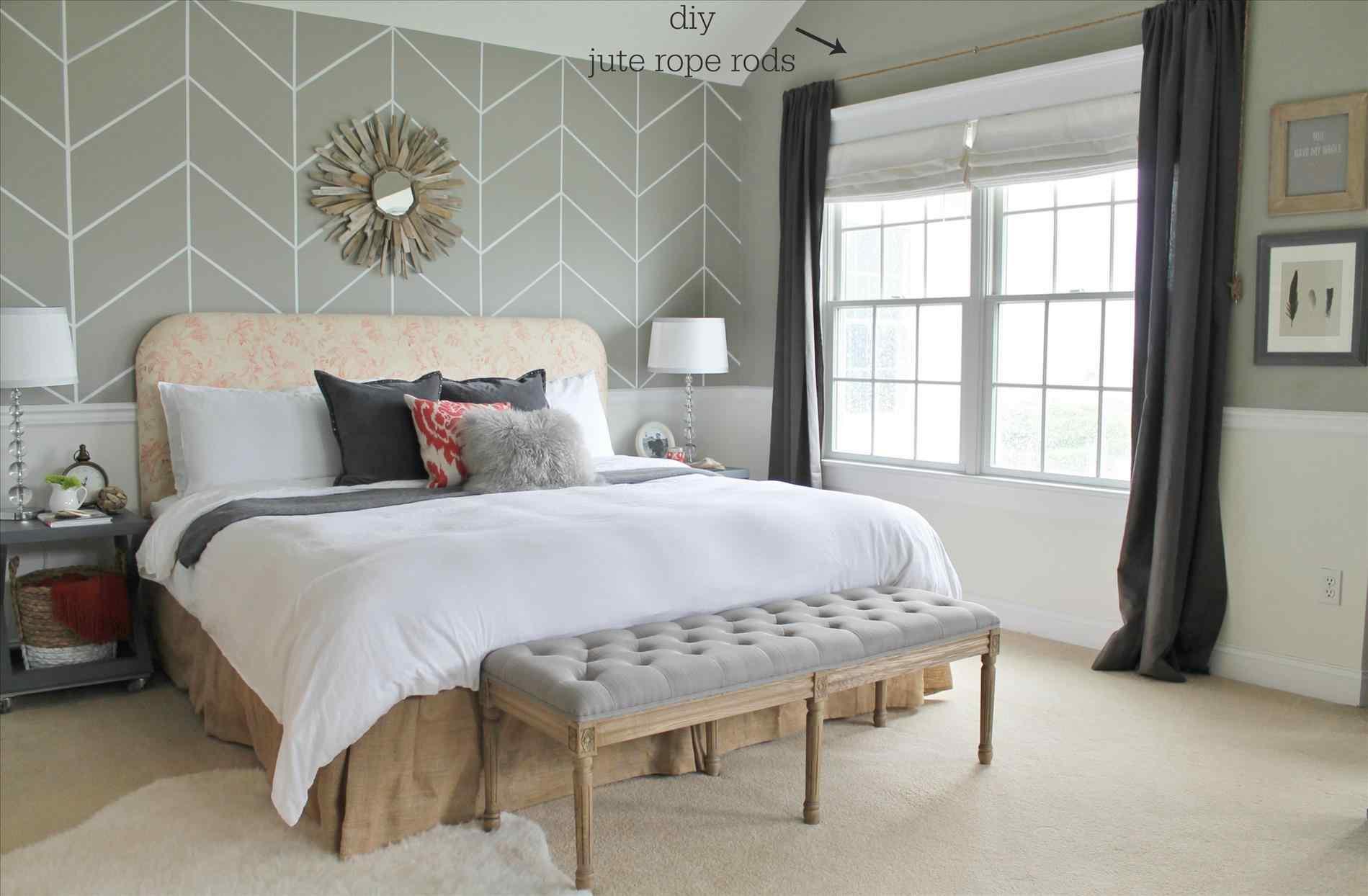 Impressive Wall Rhepartenairecom Inspiring Wallpaper - Bedroom Modern French Interior - HD Wallpaper