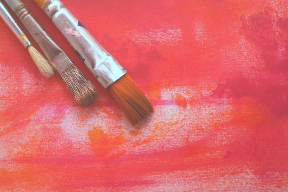 Three Paint Brush Preview - Free Paint Brush - HD Wallpaper