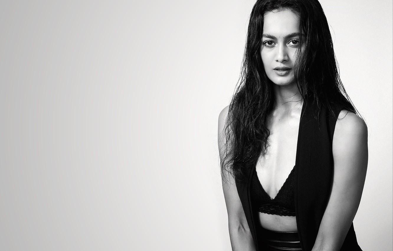 Photo Wallpaper Girl, Hot, Sexy, Eyes, Smile, Beautiful, - Photo Shoot - HD Wallpaper