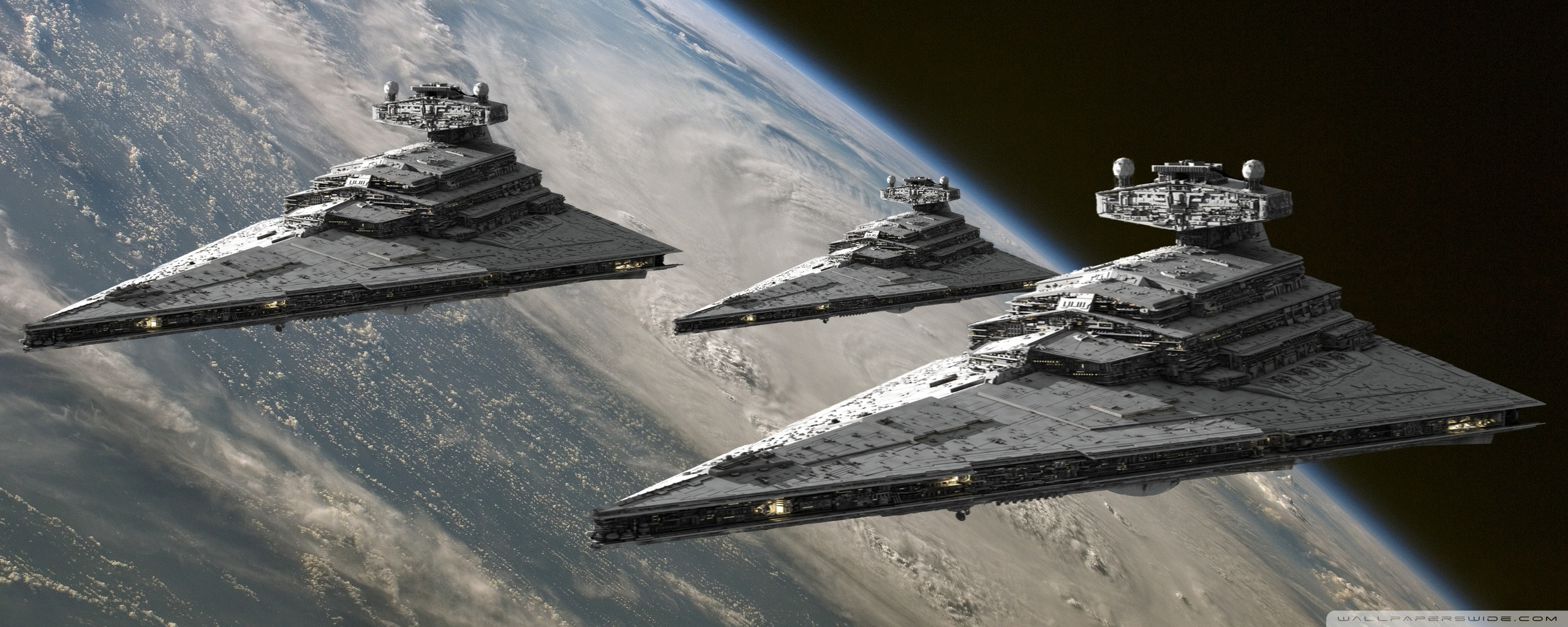 Fleet Of Star Destroyers 2560x1024 Wallpaper Teahub Io