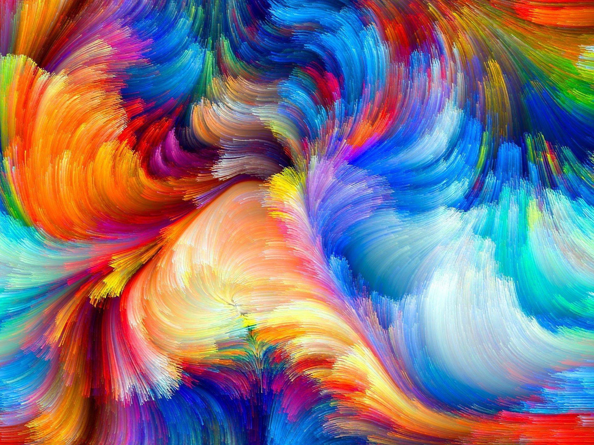 Wallpaper Color Paint - Art Abstract Wallpaper Iphone - HD Wallpaper