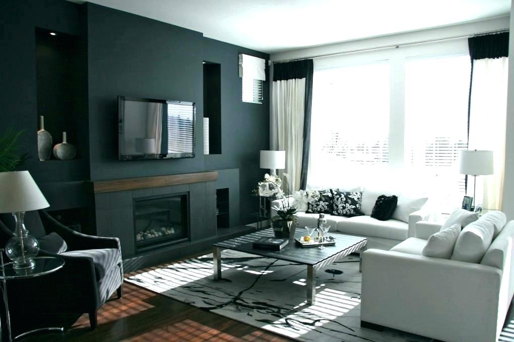 Wallpaper And Paint Ideas Living Room Feature Wall Black Feature Wall Ideas 1020x680 Wallpaper Teahub Io