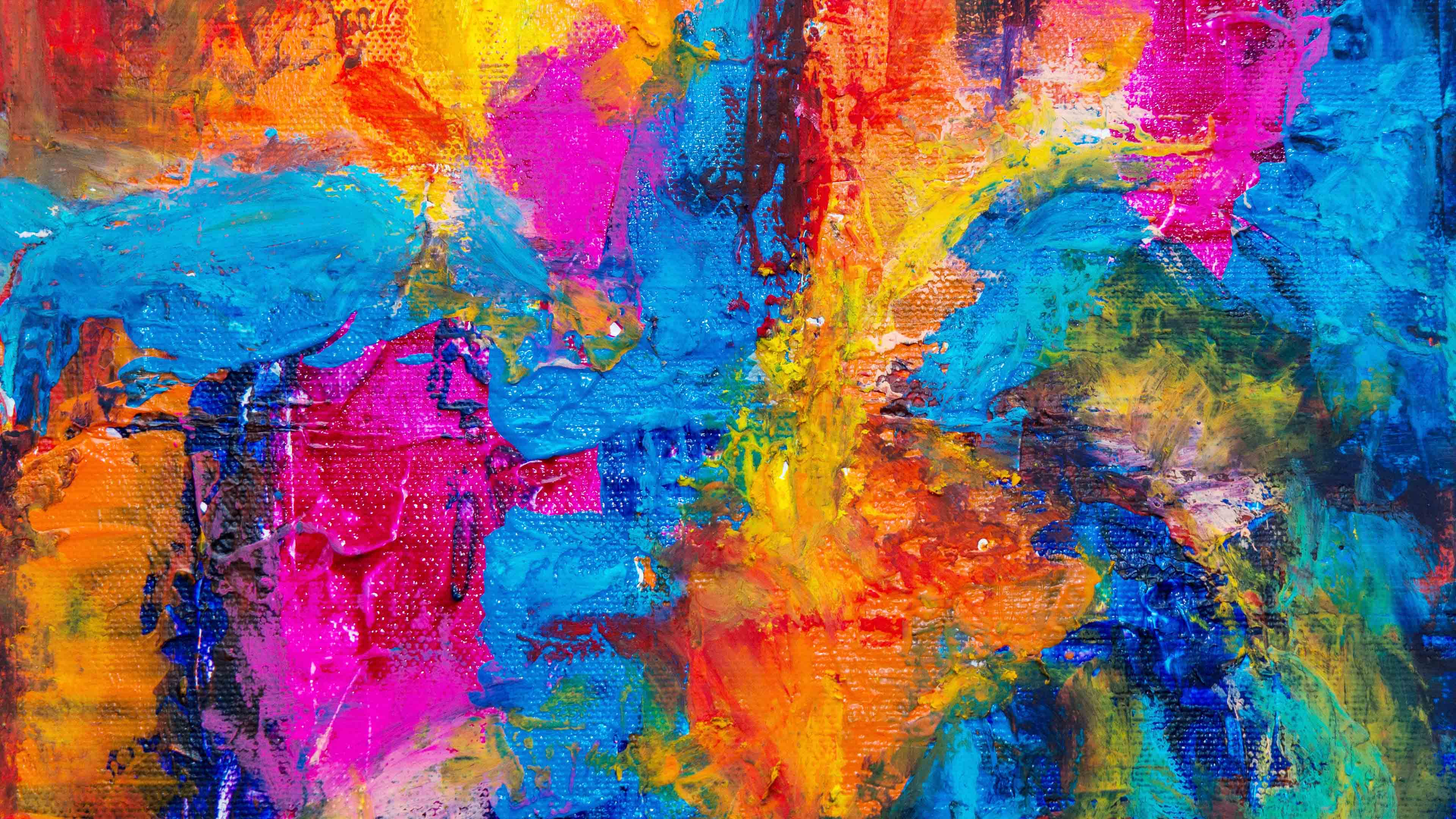 Abstract Expressionism Abstract Painting Acrylic Paint - Acrylic Paint Hd - HD Wallpaper