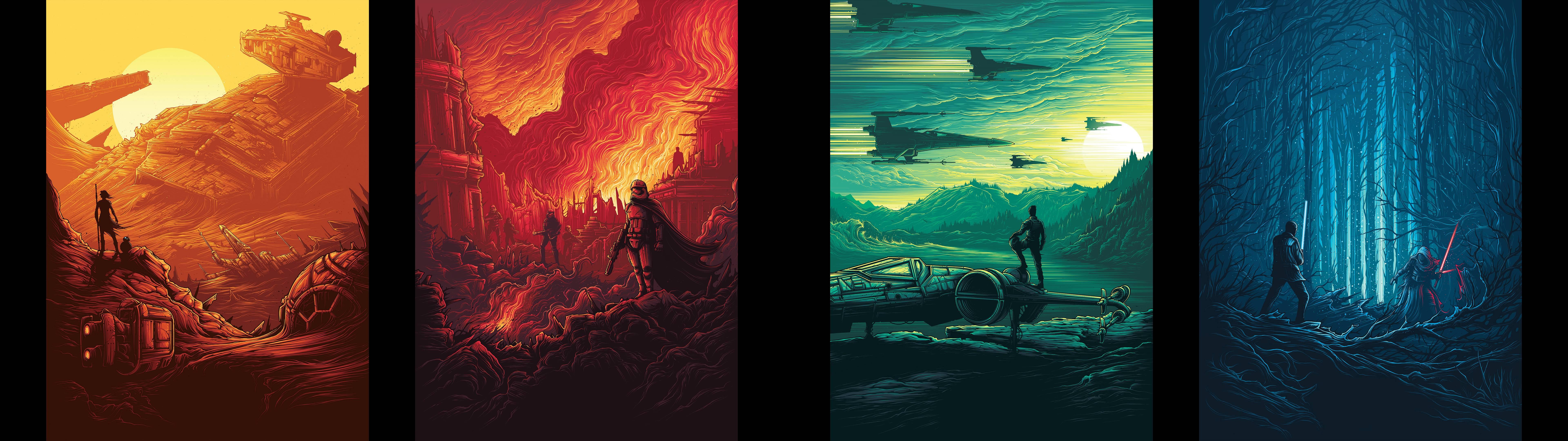 Star Wars Full Hd 7680x2160 Wallpaper Teahub Io
