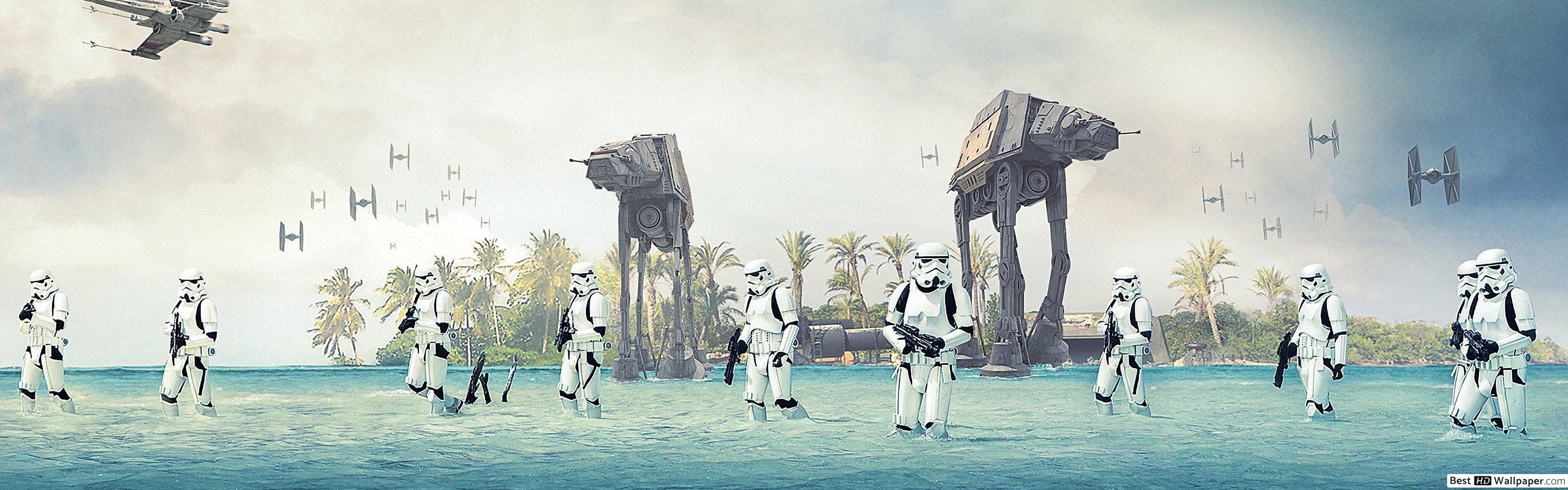 Star Wars Hd Wallpapers 4k 3840x1200 Wallpaper Teahub Io