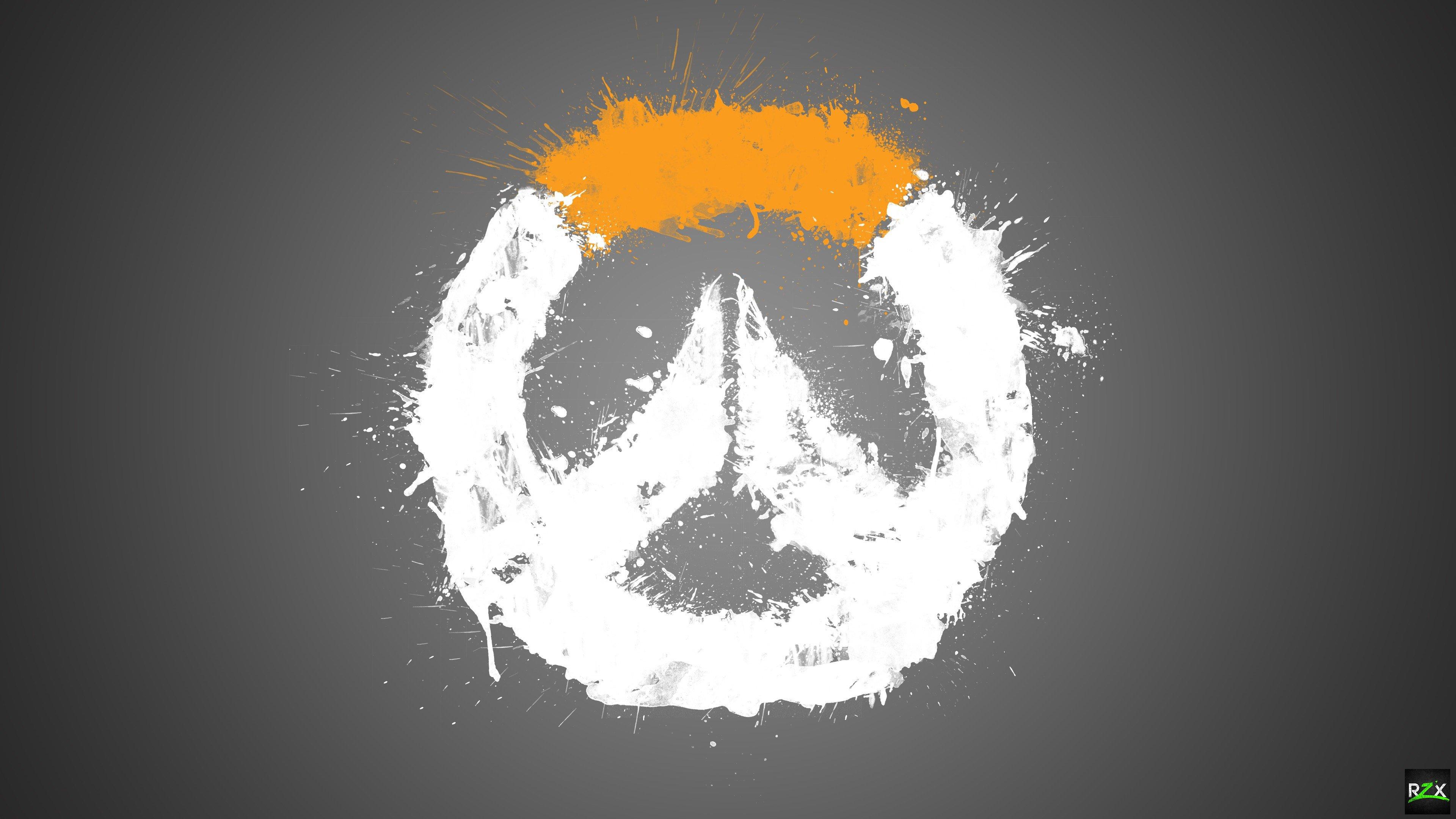 Overwatch Logo Wallpaper 4k - HD Wallpaper