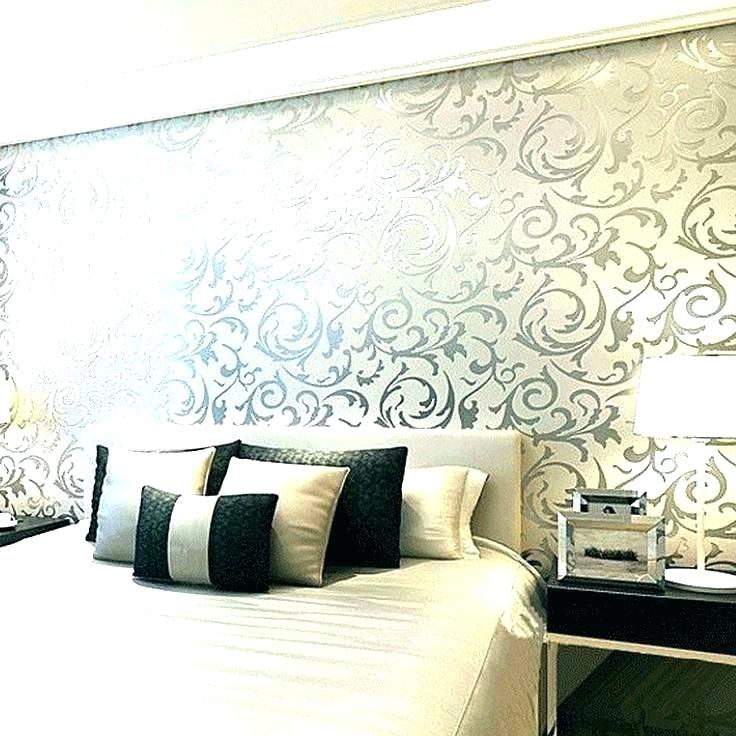 Wallpaper For House Walls India Wallpaper For House - Latest Bedroom Wall Design - HD Wallpaper