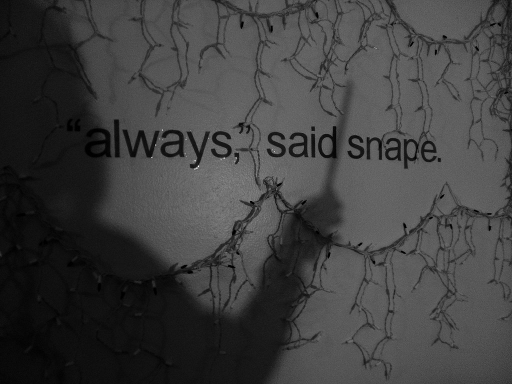 Harry Potter After All This Time Always - HD Wallpaper