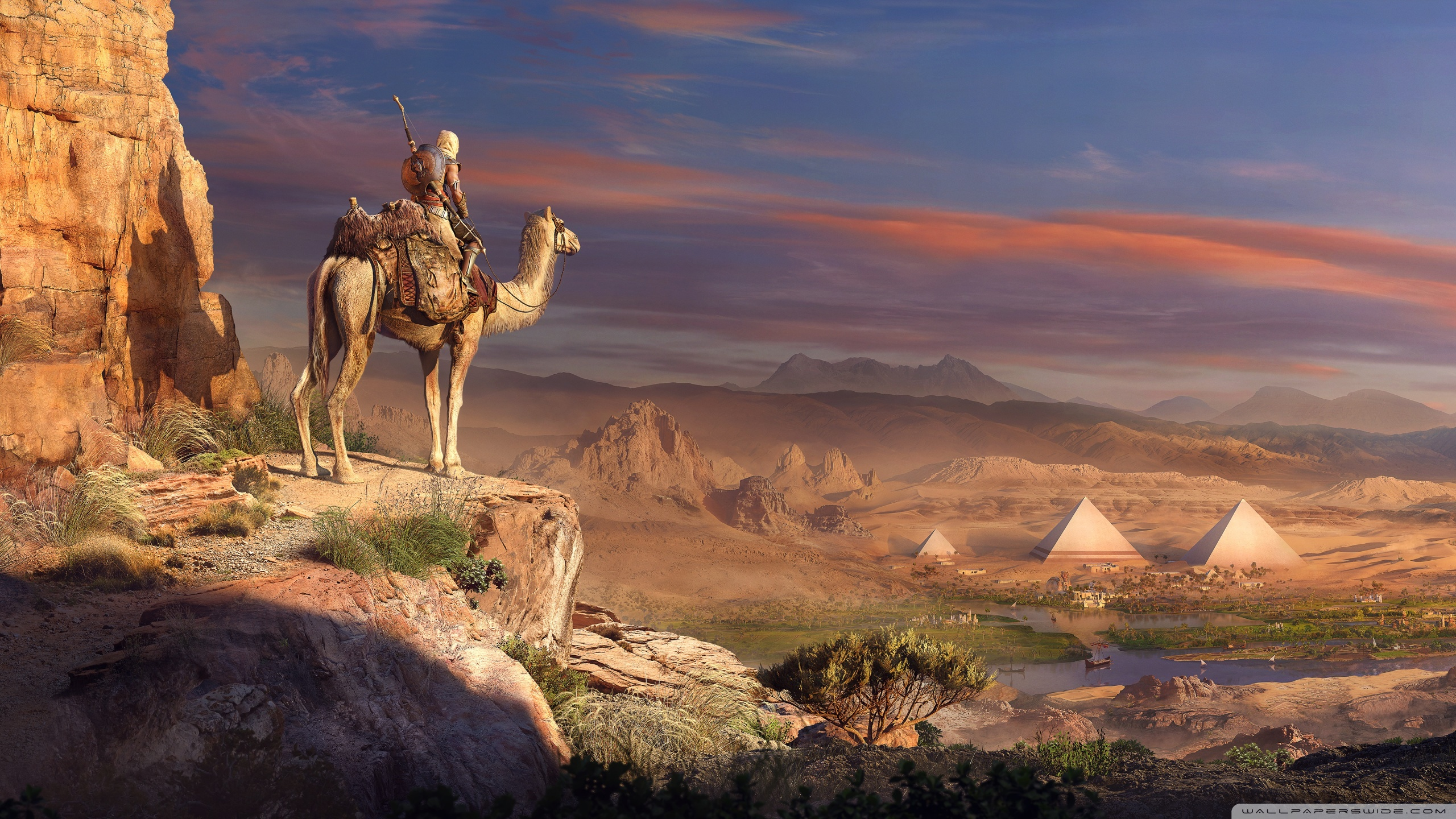 4k Assassins Creed Origins 2560x1440 Wallpaper Teahub Io