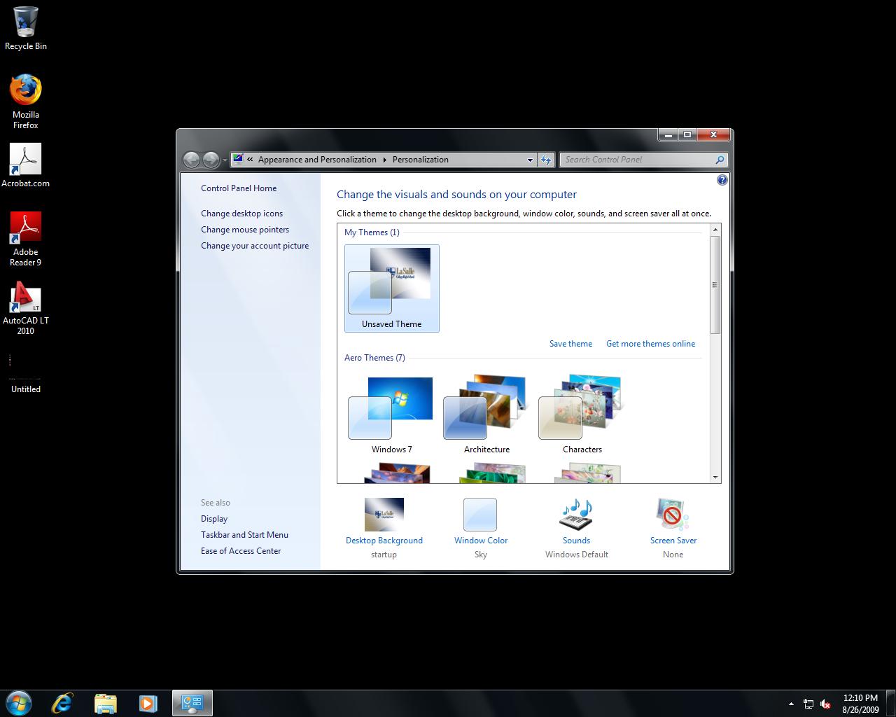 Windows 7 Desktop Background Cannot - HD Wallpaper