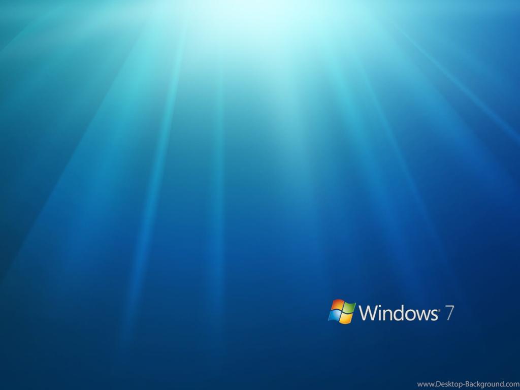 Windows 7 Desktop - HD Wallpaper
