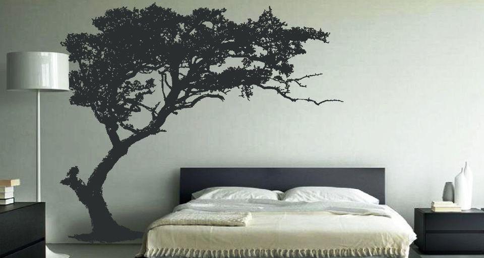 Bedroom Wall Decal Design Ideas - Bedroom Wall Decals Design - HD Wallpaper