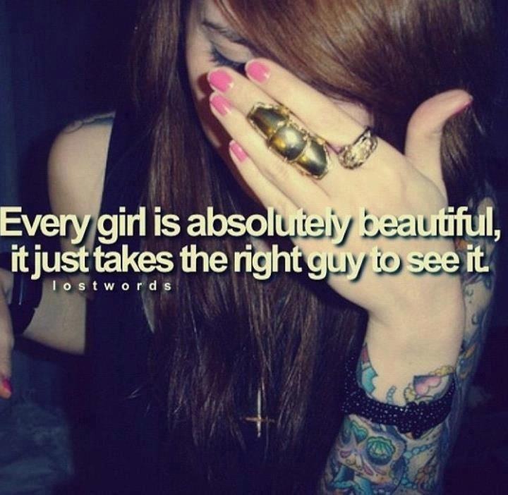 Cute Sad Gril - Beautiful Girl With Quote - HD Wallpaper