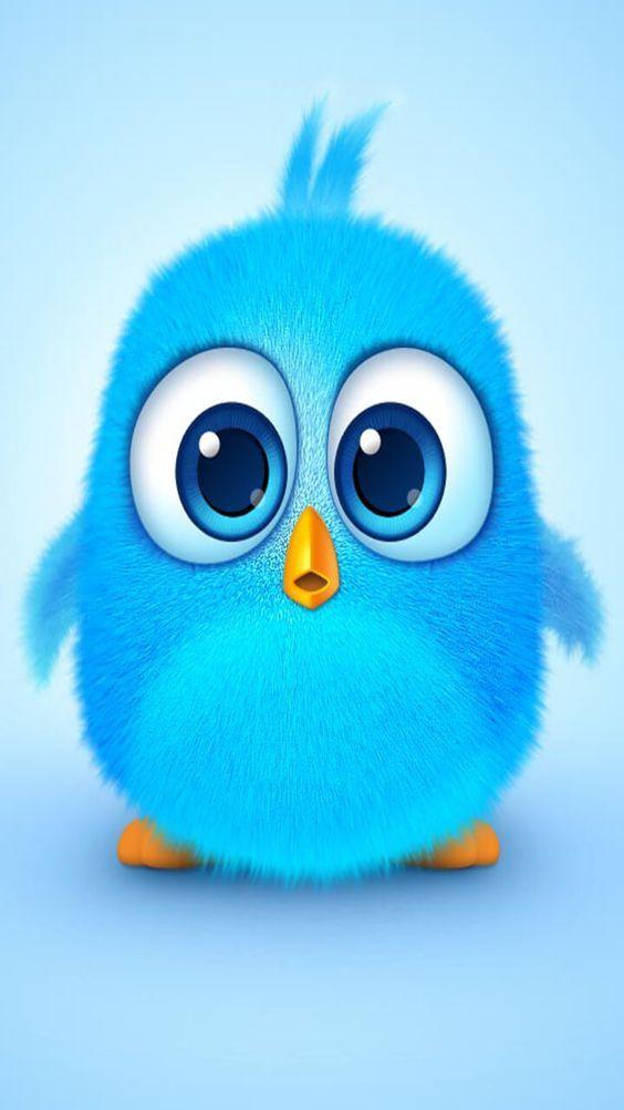Blue Cute Angry Birds 564x1002 Wallpaper Teahub Io