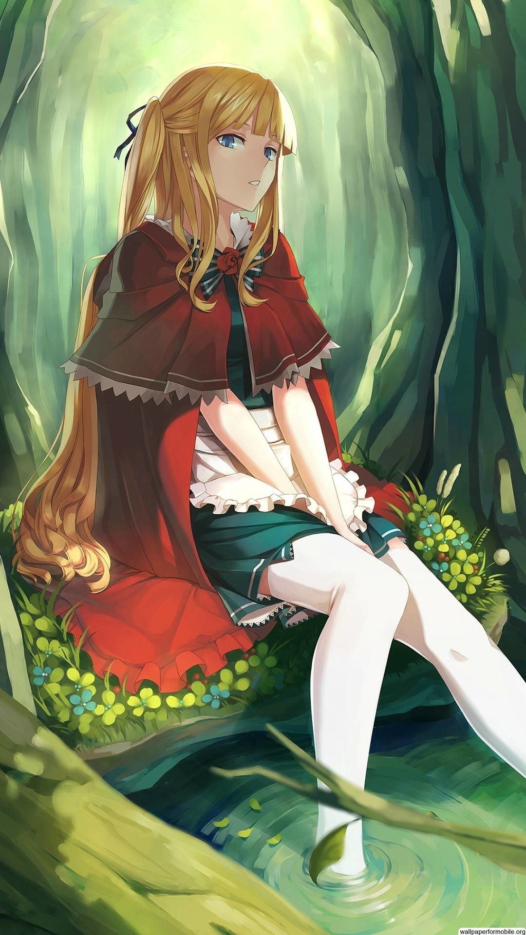 Explore Cell Phone Wallpapers Girl Pics And More Cute Anime Red Riding Hood 1080x1920 Wallpaper Teahub Io