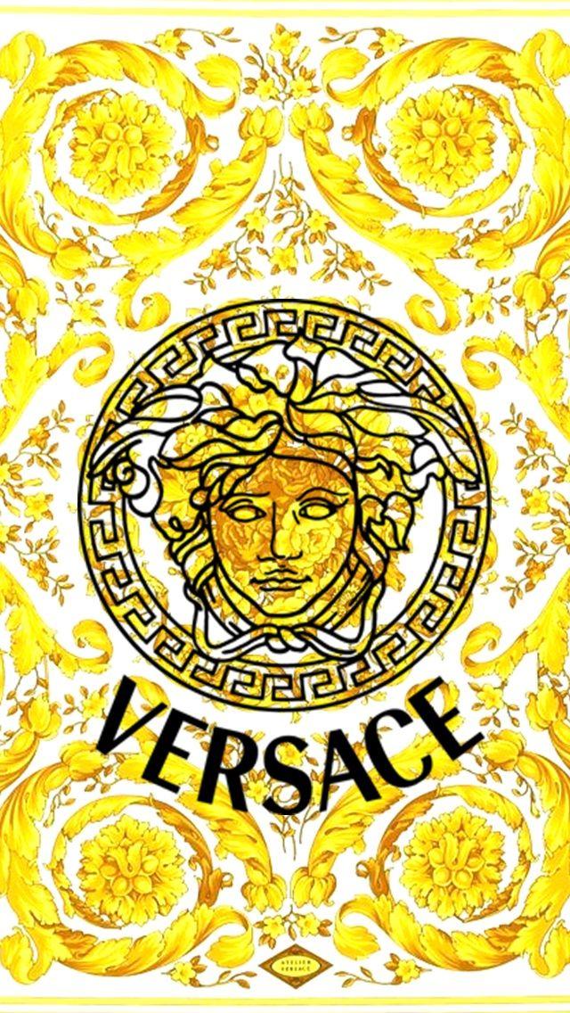 Versace Sticker 640x1136 Wallpaper Teahub Io Versace wallpaper desktop white gold