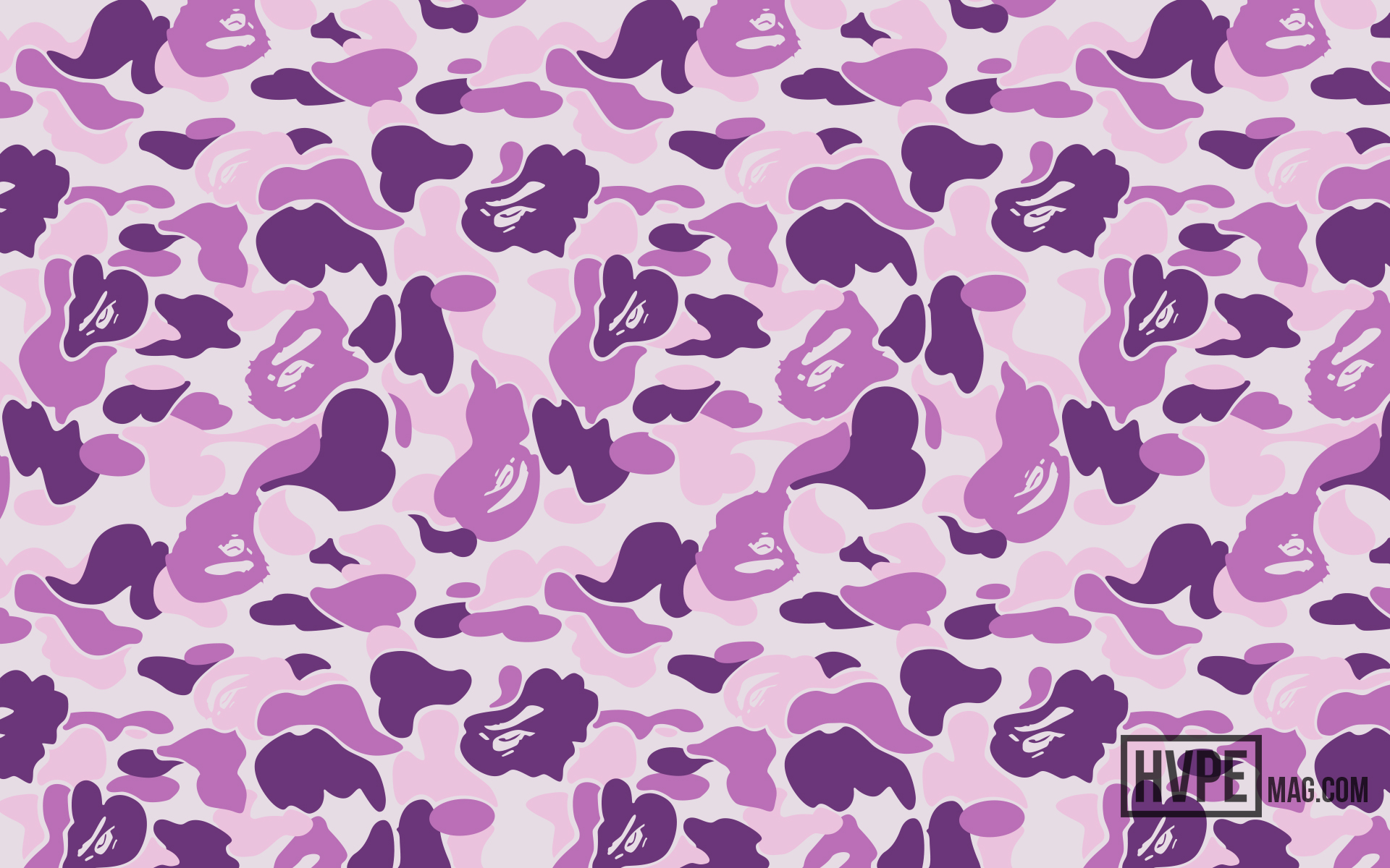 Bape Desktop Wallpaper Fogwlprs Arts Res - Background Bape Purple Camo - HD Wallpaper