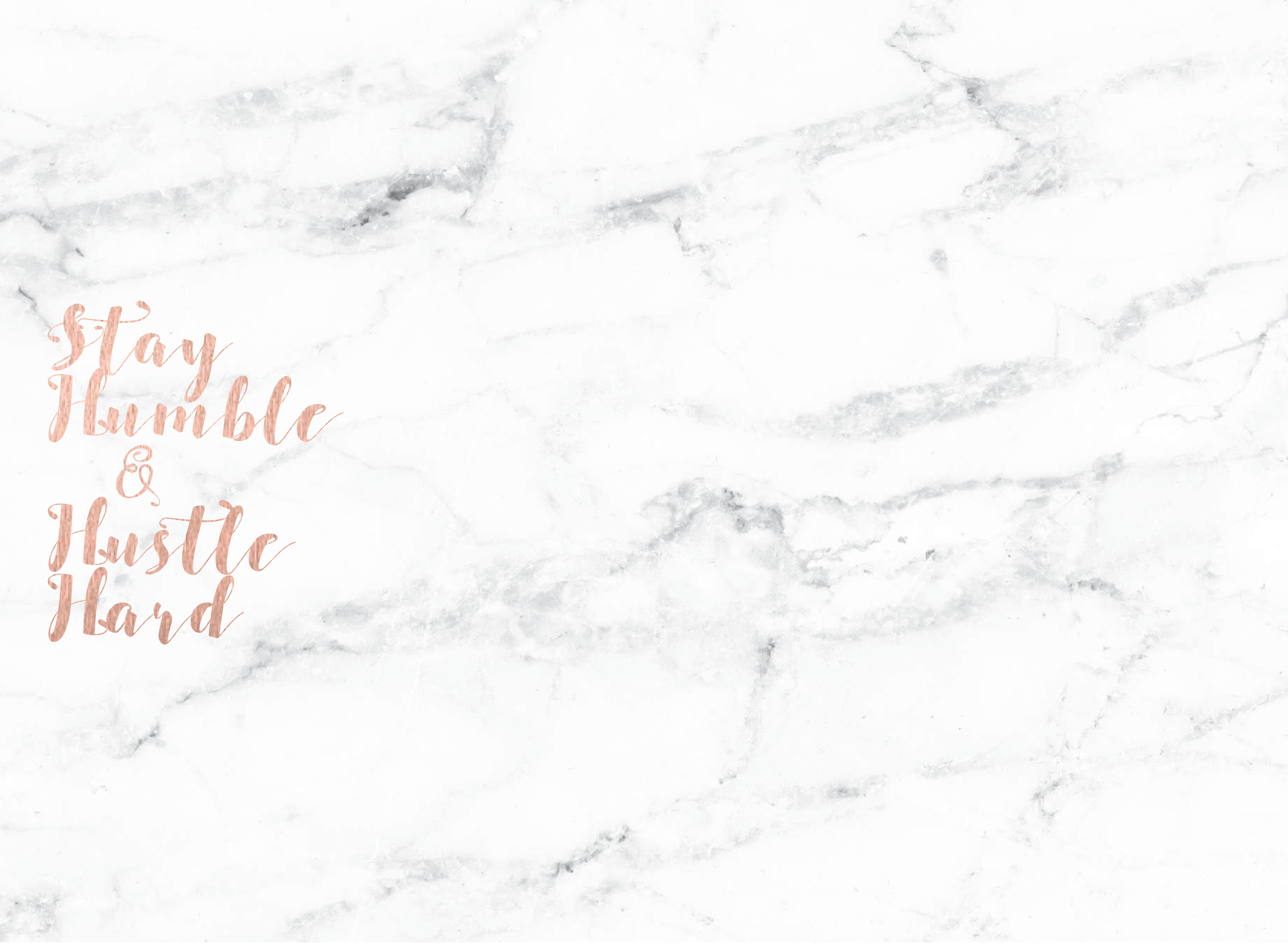 Desktop Background Rose Gold Marble ...