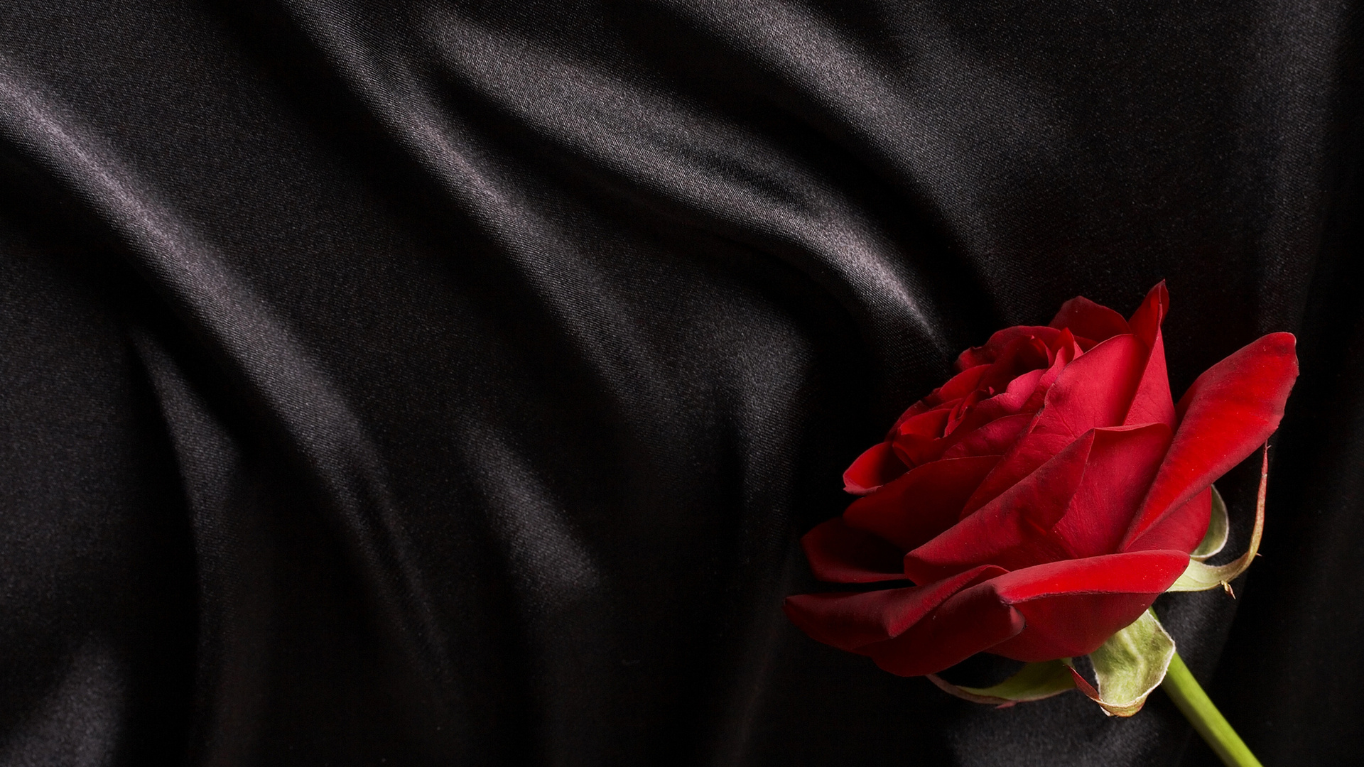 Black And Red Rose Wallpaper Download Black Silk Wallpaper Black And Red Satin 1920x1080 Wallpaper Teahub Io