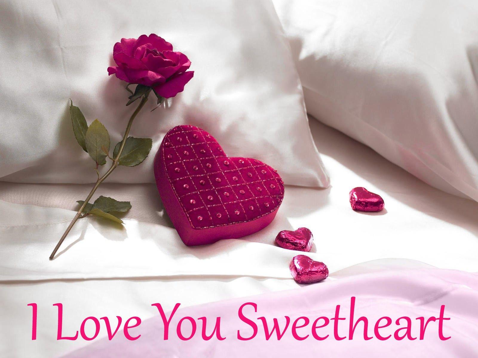 Cute I Love U Wallpapers For Mobile - Love U My Sweet Heart - HD Wallpaper