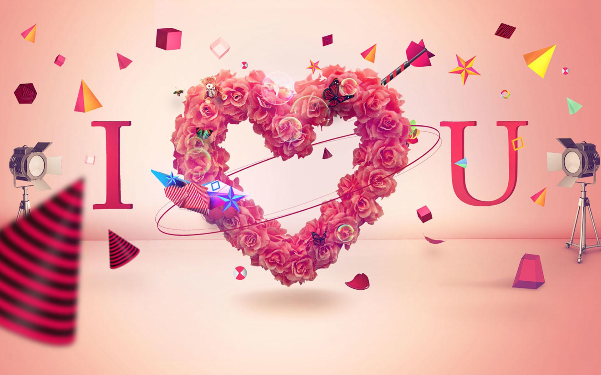 1920x1200, Best I Love U Wallpaper Free Download Hd - Love Photo Download Hd - HD Wallpaper