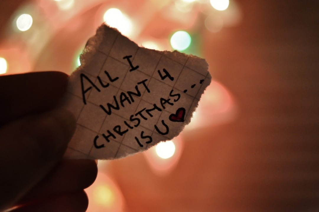 Christmas Love Quotes Wallpaper - Want You For Christmas - HD Wallpaper