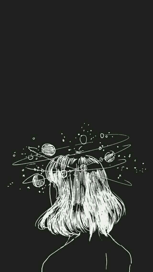 Galaxy Drawing 640x1136 Wallpaper Teahub Io