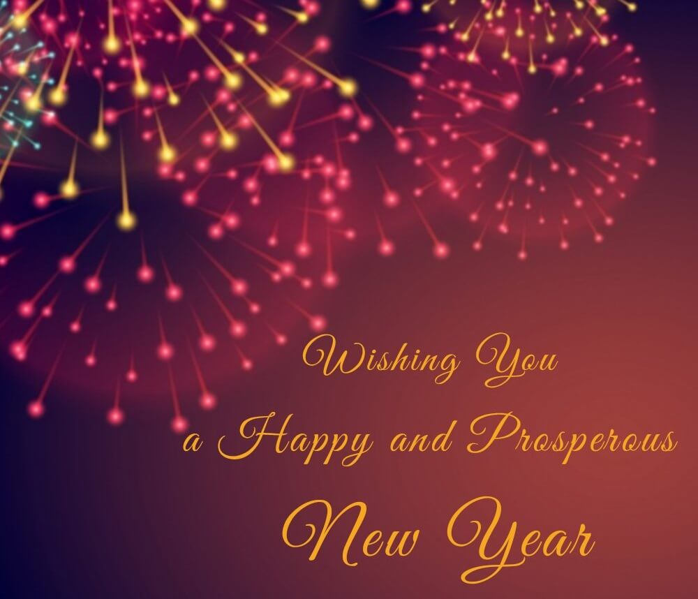 Happy New Year Wallpaper - New Year Wishes 2019 - HD Wallpaper